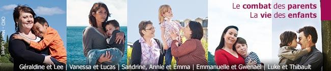 Le Téléthon 2013 et les 5 familles, le combat des parents la vie des enfants